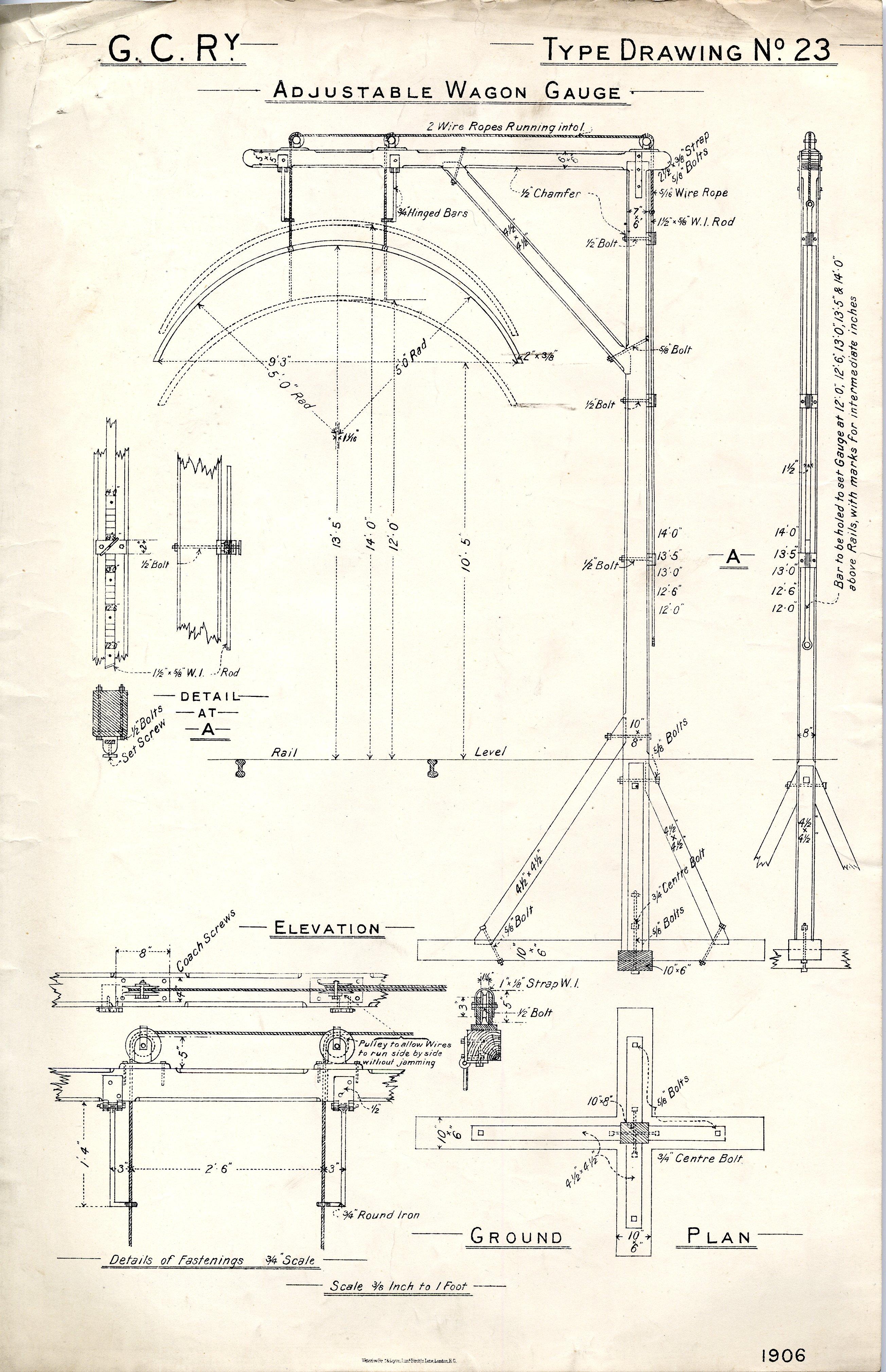 M S  & L  Ry  / G C Ry  Type Drawings
